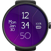 Digital Watch Face
