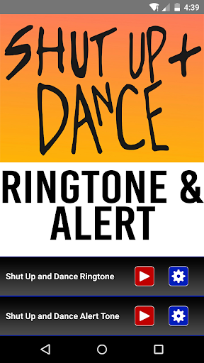 Shut Up and Dance Ringtone