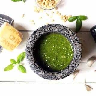 Recipe for Pesto.