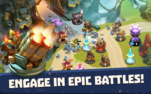 Castle Creeps TD - Epic tower defense 1.46.0 screenshots 7