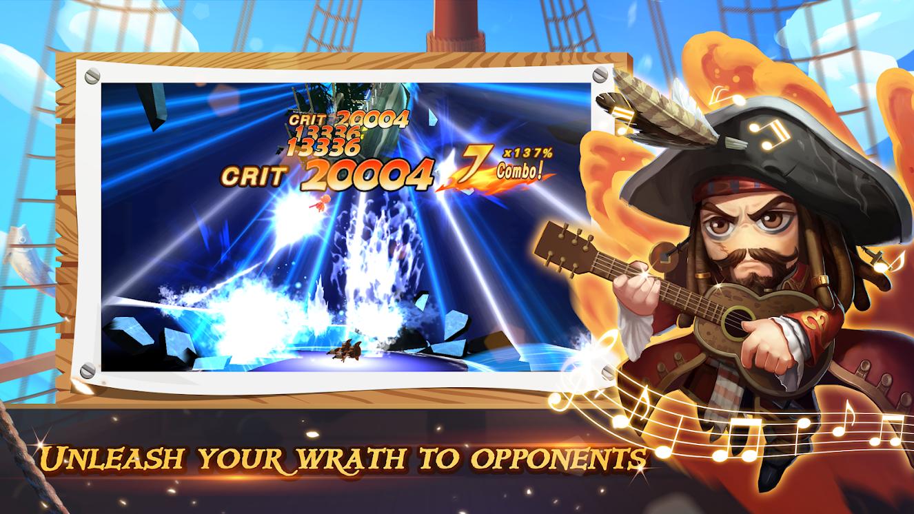 Ocean Raider: Captain's Wrath poster