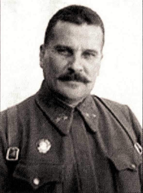 Швецов Василий Иванович, командир 133сд, генерал-майор