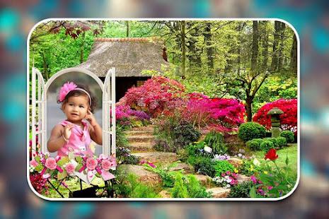 Garden Photo Frames - Apps on Google Play