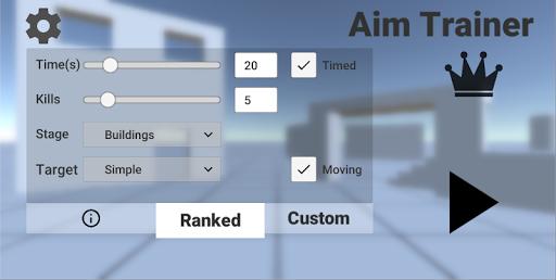 Aim Trainer 5.3 screenshots 1