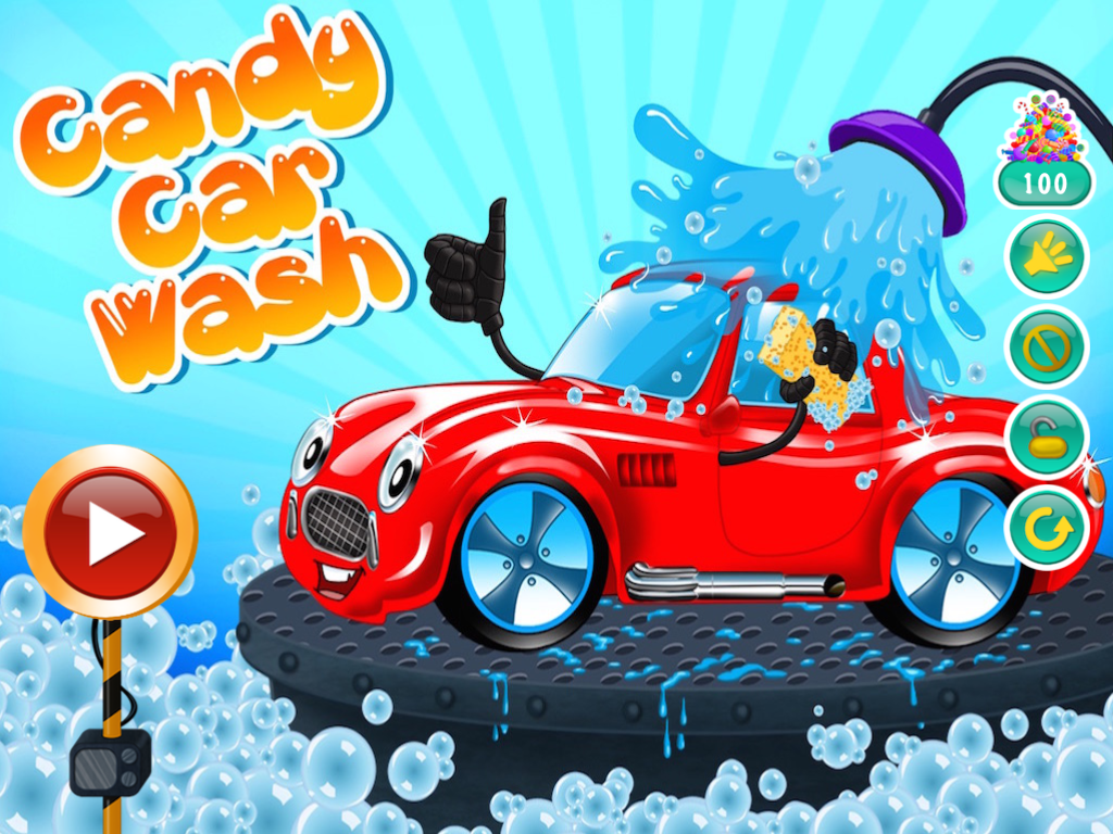 candy carwash screenshot