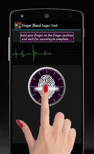 手指血糖測試惡作劇