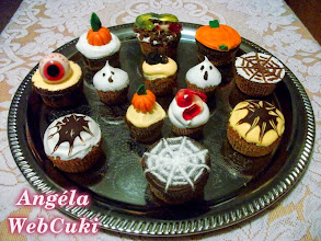Photo: Halloween muffinok  http://angelawebcuki.blogspot.hu/2012/11/halloween-muffinok.html