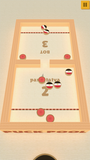 Puck Pool - Fast Sling Puck 3D board game 11.0 screenshots 1
