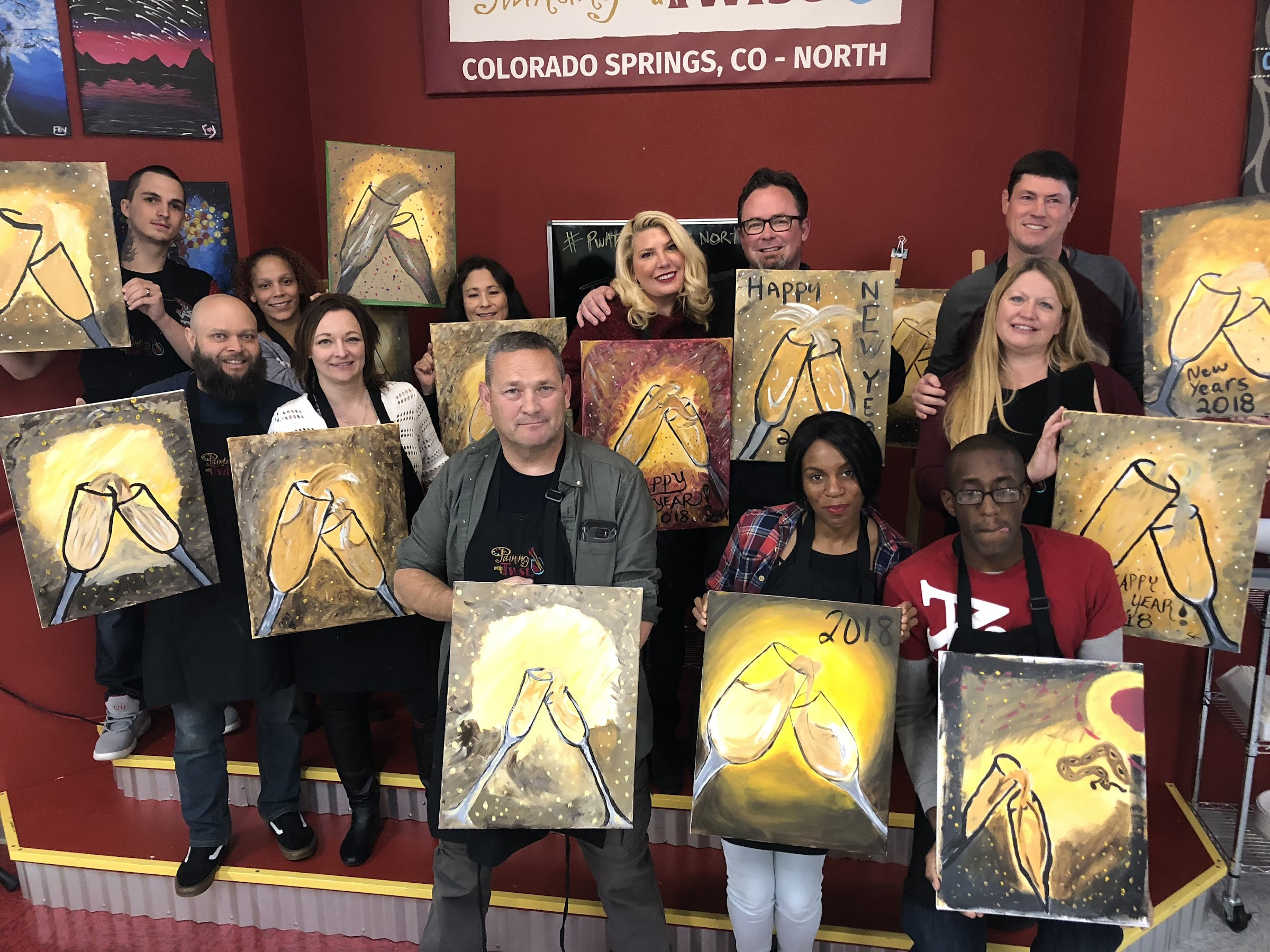 Painting With a Twist, Colorado Springs West