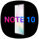 Cool Note10 Launcher for Note, A, S - Theme, UI icon