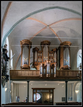 Photo: Die Metzler-Orgel in der St.-Michaelis-Kirche Eutin