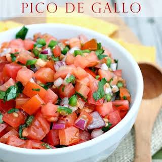 Homemade Pico de Gallo.