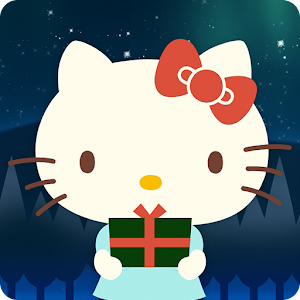 Hello Kitty Christmas Theme Gratis