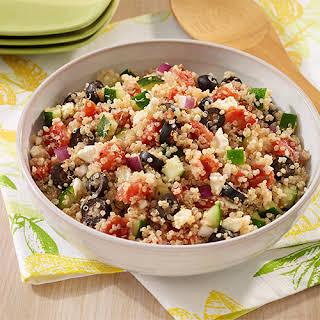 Mediterranean Quinoa Salad.