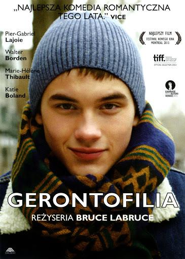 Przód ulotki filmu 'Gerontofilia'