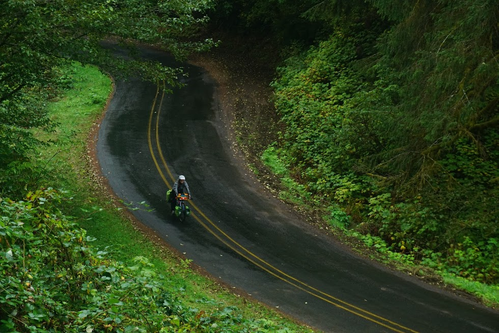 Sometimes it just can't get any better - Slab Creek Road, Oregon