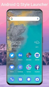 Q Launcher for Q 10.0 launcher, Android Q 10 2020Mod Apk Download For Android 1