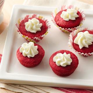 Red Velvet Cookie Cups.