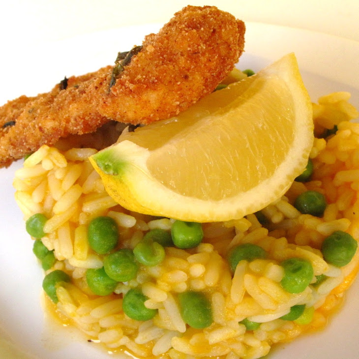 Cat Fish Fillets and Rice with Carrots and Peas