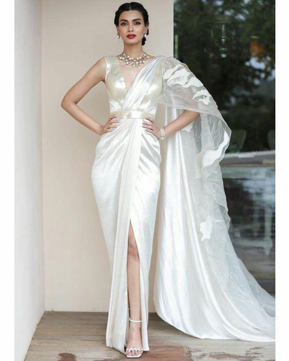 Saree gown