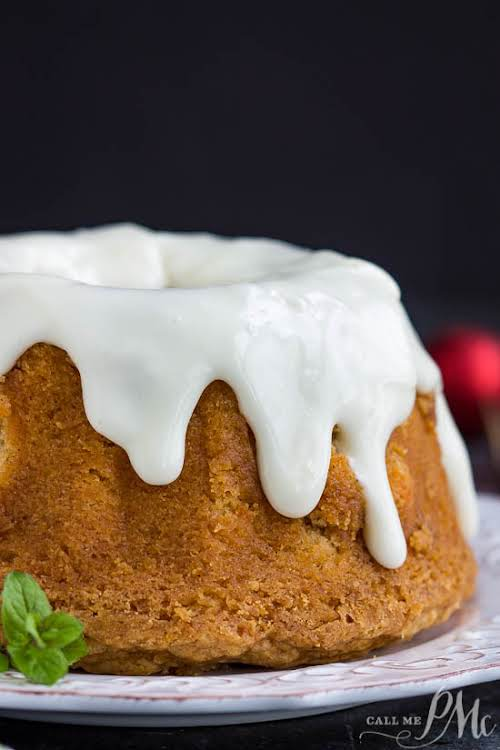 """Best Sweet Potato Pound Cake With Cream Cheese Frosting""""A moist Best Sweet..."""