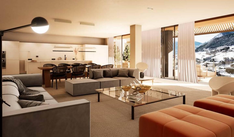 Appartement contemporain avec terrasse Andorre-la-Vieille