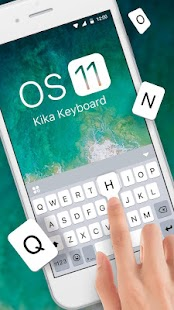New OS11 Keyboard Theme - náhled