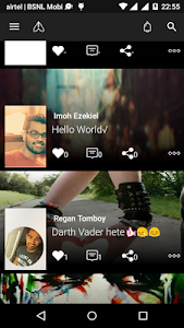 Amigo - Social Network (Beta) screenshot 1