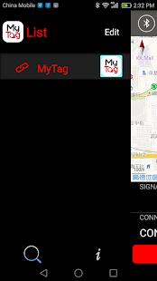 MyTag Finder - náhled