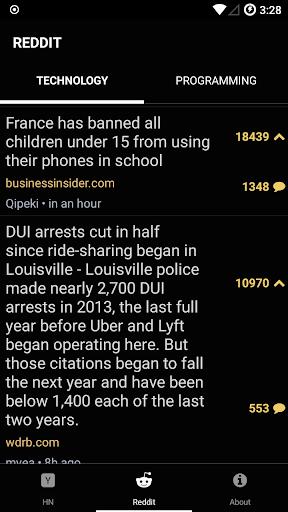 Hacked.It - Tech News Reader 1.1 Screenshots 2