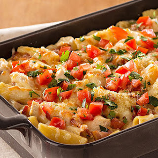 Monterey Chicken Pasta Bake