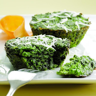 Parmesan Spinach Cakes.