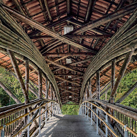 Rustic Symmetry by Andrius La Rotta Esquivel - Buildings & Architecture Bridges & Suspended Structures ( architectural detail, photographer, bridges, architectural, photography, colombia, architecture )