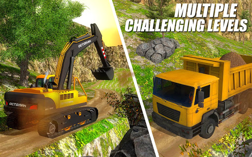 Heavy Excavator Crane - City Construction Sim 2017  screenshots 7