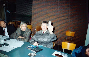 Photo: Frans den Adel behartigt 32 jaar het secretariaat van Servatius