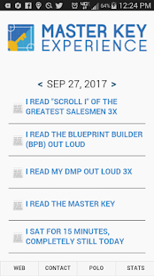 Master Key Experience Companion App - náhled
