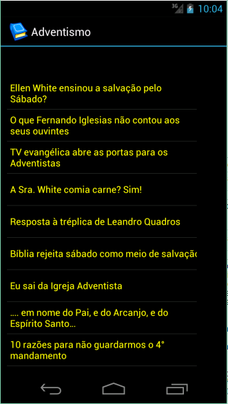 Estudos Bíblicos Apologéticos- screenshot