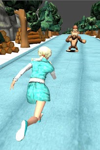 Ice Princess Snow Run : Endless winter Run 3D game 3