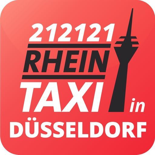 Rhein-Taxi 212121 Die Taxi-App für Düsseldorf