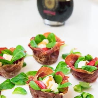 Parma Ham Baskets, Finger Food Idea