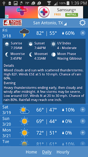WOAI 4 Zone Weather screenshots 2