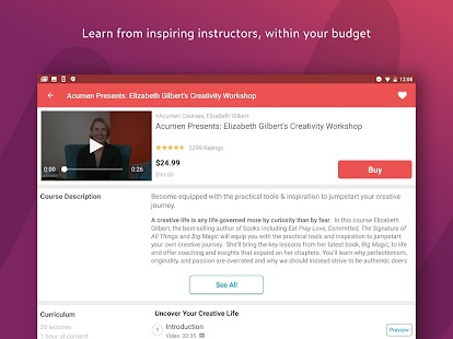 Udemy - Online Courses Screenshot