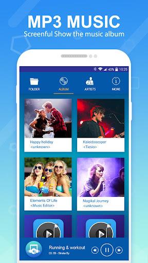 mp3 player - music player 1.1 screenshots 1