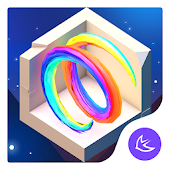 Starry Sky Valley APUS Launcher Theme Android APK Download Free By Cool Theme Team