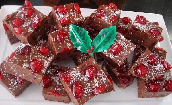 Cherry Ripe Fudge Recipe