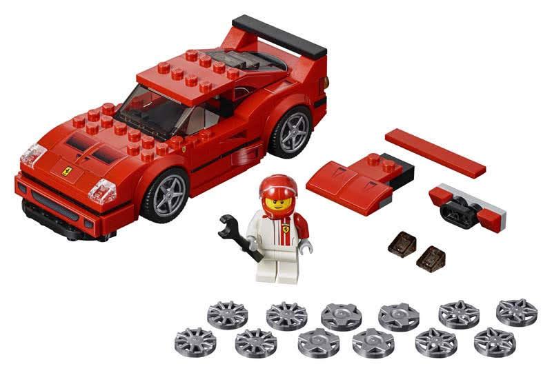 Contenido de Lego® 75890 Ferrari F40 Competizione