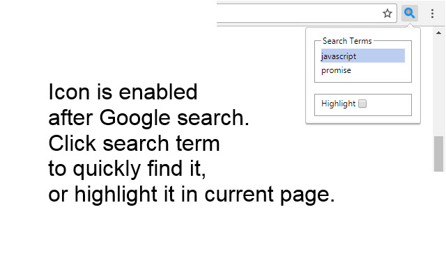 Search Terms Finder