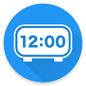 Fullscreen Digital Clock