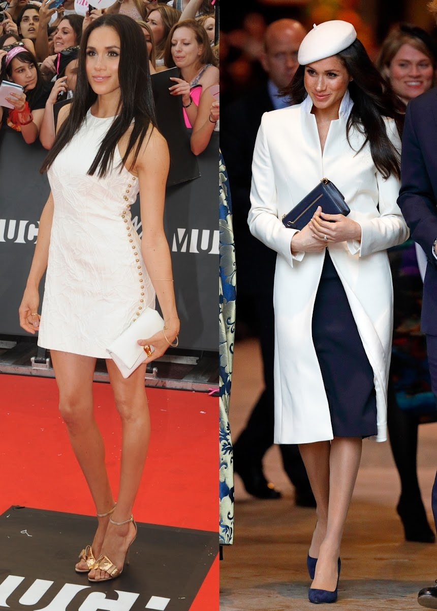 Deal Or No Deal To Duchess To Be Meghan Markle S Style Evolution