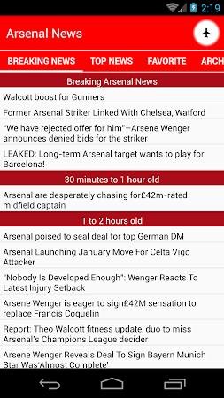 Latest Arsenal News &Transfers 5.6 screenshot 735876